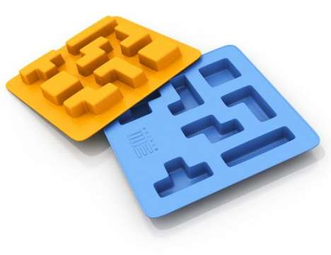 Ice for Gamers - Tetris Ice Cube Trays