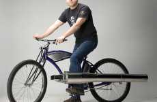 Jet Engine Bicycles