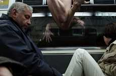 Controversial Public Transit Photos - Paris Metro Nudes