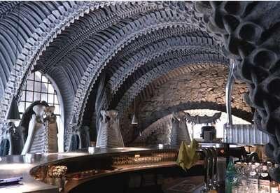Alien-Themed Architecture