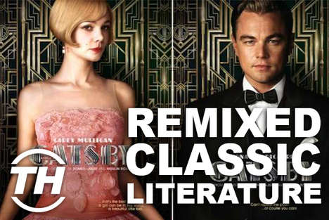Remixed Classic Literature - Armida Ascano Shares Classics in Time for the Great Gatsby 2013 Film