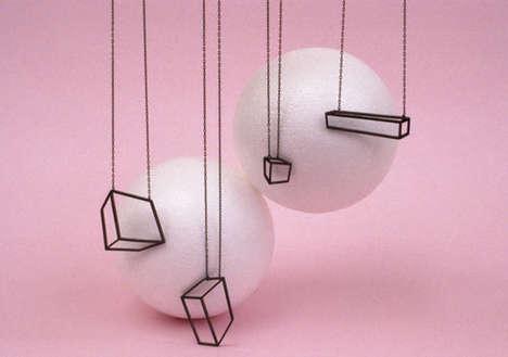 Geometric 2D-Like Accessories