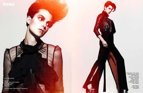 Fiery Songstress Editorials