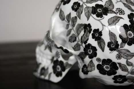 K.olin tribu Collaborates with Artist NooN to Create a Ceramic Skull