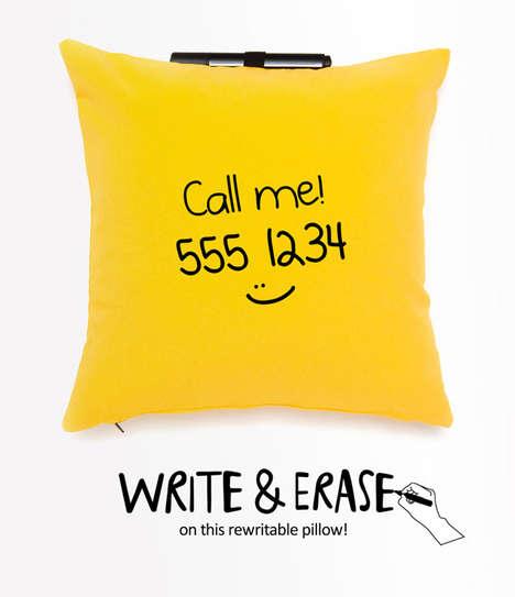 Note-Jotting Cushions