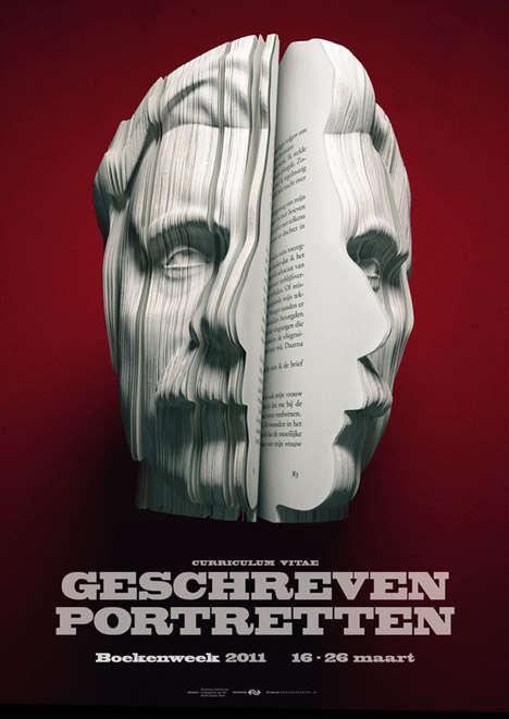 Autobiographical Facial Sculptures