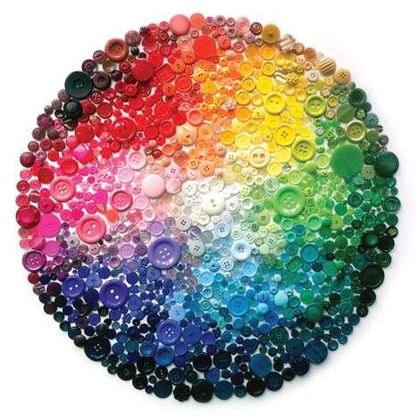 Rainbow Button Art