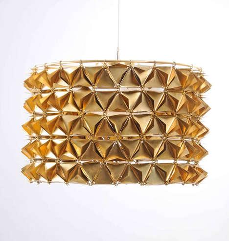 Spiky Geometric Lamps