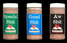 Cheeky Seasoning Spices - Special Sh*t Seasonings are Bluntly Labeled to Add a Little Humor