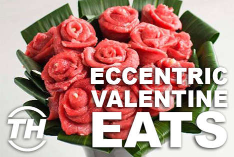 Eccentric Valentine Eats - Armida Ascano Unveils Weird Valentine's Day Food for Daring Lovers