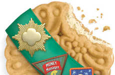 Mushroom Melded Fundraising Cookies - The Latest Girl Scout Cookie Has a More Sophisticated Taste