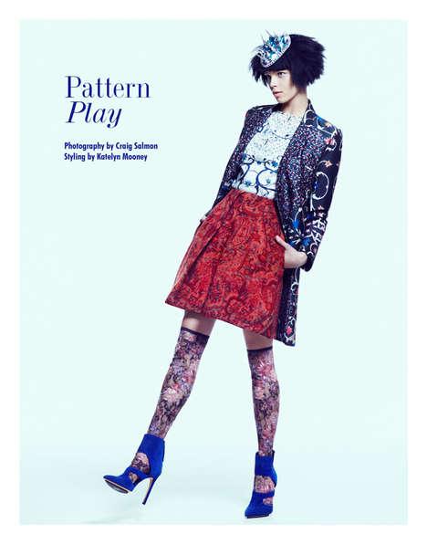 Funky Vibrant Fashion