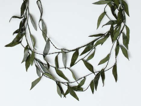 Layered Foliage Jewelry