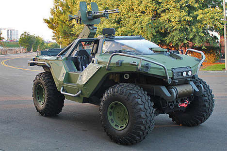 Video Game Vehicle Replicas - Microsoft Comissions Road Ready Replica of Warthog from 'Halo' Series