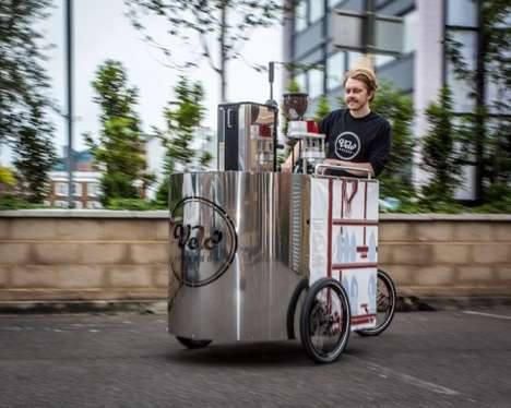 Energizing Espresso Tricycles