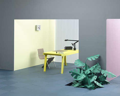 Paper Cutout Offices