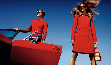 Crisp Vibrant Fashion Ads