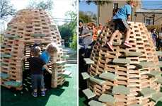 DIY Amusement Eggs - PlayHive Can Be Easily Built by Parents for an Un-bee-lievably Fun Playground
