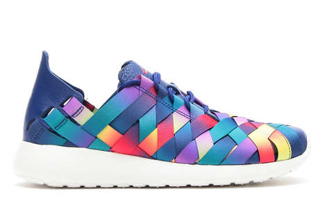 Woven Multicolor Sneakers