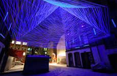 UV-Light Thread Installations