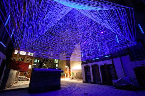 UV-Light Thread Installations