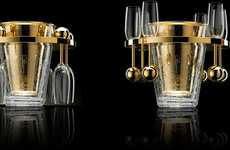 Blinging Champagne Coolers - The Van Perckens is the World's Most Expensive Luxury Bubbly