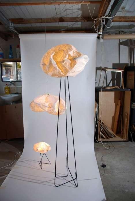 Geometric Cloud-Like Lamps
