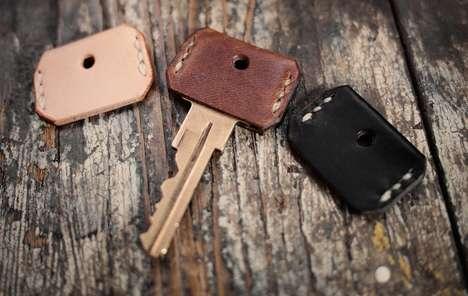 Cowhide Key Covers