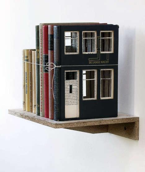 Book-Built House Decor