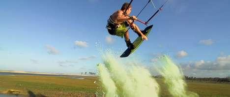 Kiteboarding Art Videos
