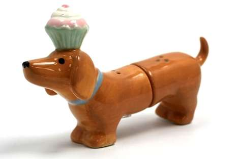 Canine Condiment Shakers