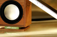 High-Tech Timber Speakers - This Compact Speaker is Crafted Out of the Precious Ancient Kauri