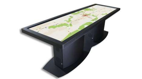 Ideum's Latest Large Touch Screen is the Size of a Dinner Table