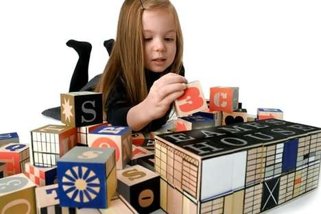 Architecture-Inspired Building Toys