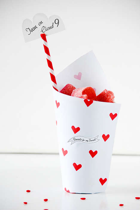 Customized Holiday Candy Packages