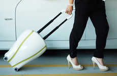 Voluptuous Wheeled Valises - The Balance Suitcase Affords Versatility in Lugging Your Belongings