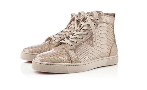 Exotic Textured Footwear