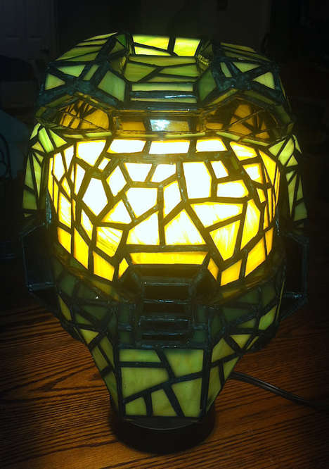 Illuminated Glass Gaming Gear