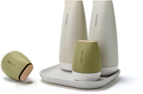 Sculptural Ceramic Dispensers
