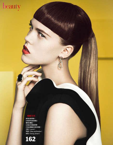 Glaring Beauty Editorials