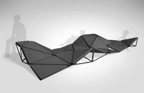 Geoform Modular Loungers