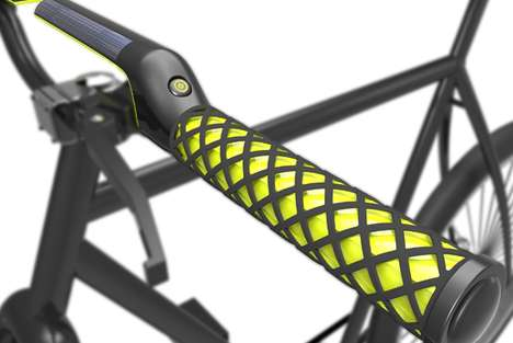 Climate-Adjusted Bicycle Grips