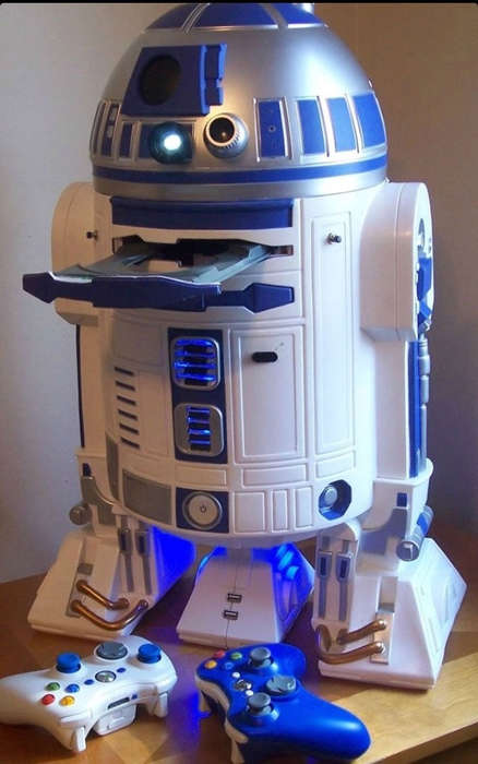 Droid-Inspired Console Mods - Major League Mods Cram Working Consoles into Custom Star Wars Cases