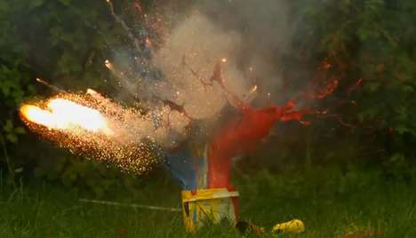 Slow Motion Explosion Virals