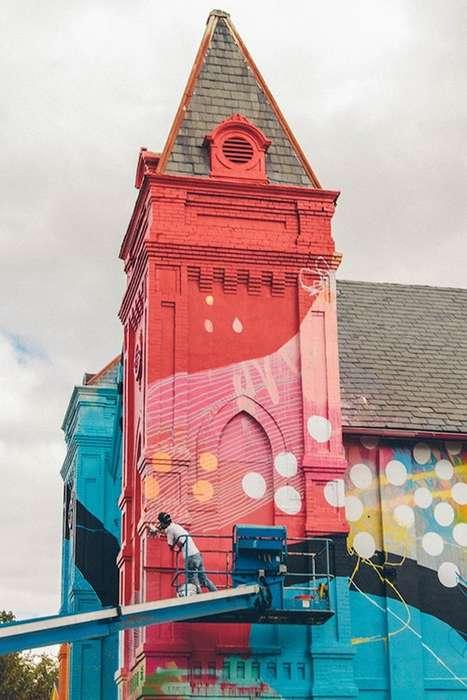 Kaleidoscopic Church Makeovers