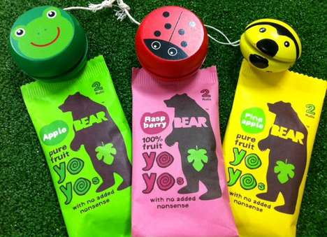 Wholesome Wildlife-Inspired Snacks - BEAR Nibbles Use Unaltered Fruit and Recyclable Packaging