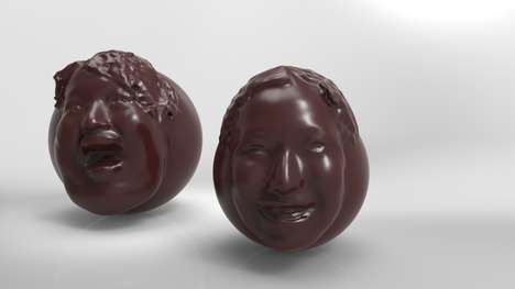 Personalized Chocolate Faces