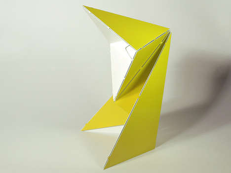 This Origami Lamp Can be Assembled in Under Five Minutes