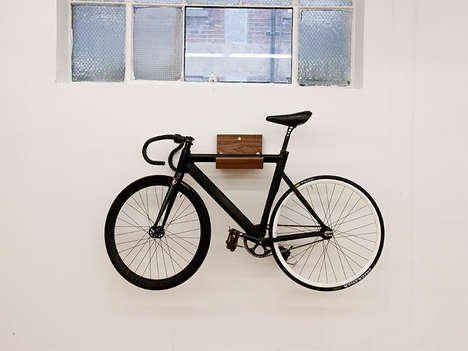 Decorative Timber Bike Racks