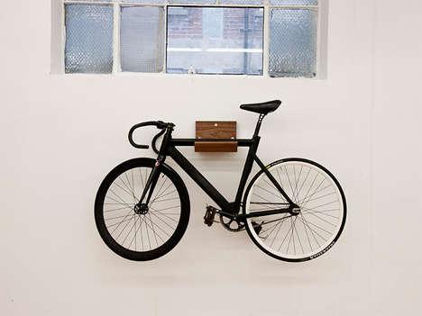 Decorative Timber Bike Racks